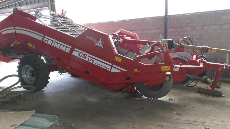 Grimme CS 170 Combi-Star ROTA Power
