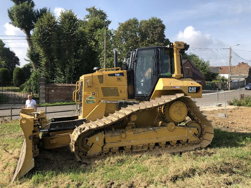 Caterpillar D6 NLGP Cat Grade 3D