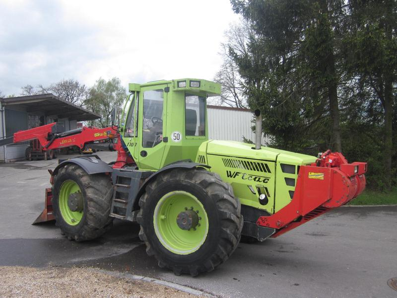 tracteur forestier wf trac
