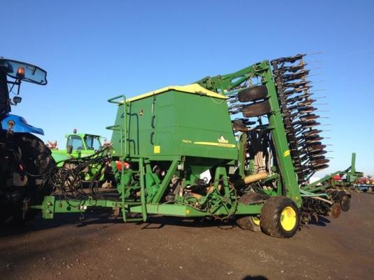 John Deere 740 A  8m GREEN STAR