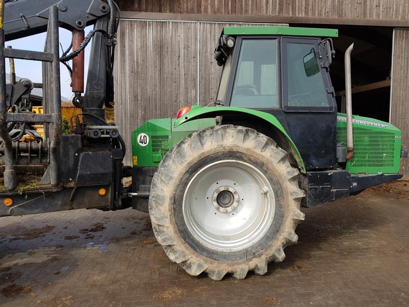 tracteur forestier kotschenreuther