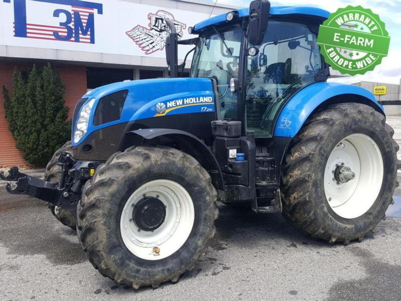 New Holland T7.210 APC SW2 INtell 4
