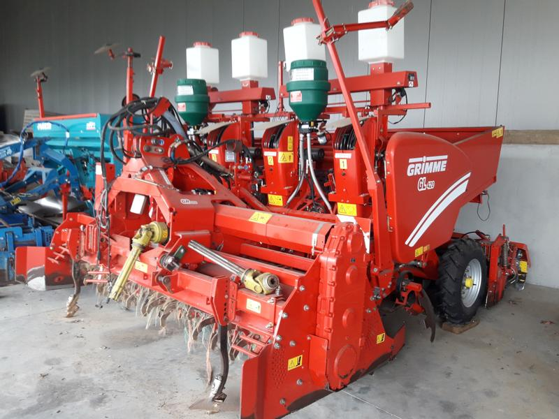 Grimme Frees + Pootmachine