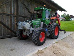 tracteur forestier wario