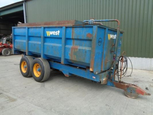 Used Harry West fuel tank
