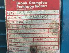 Invensys Brook Crompton Motors 2.2KW 3PH 4P
