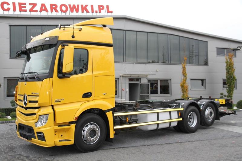 Mercedes-Benz ACTROS 2542 E6 6X2 CHASSIS