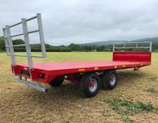Portequip 28ft Heavy Duty Bale Trailer