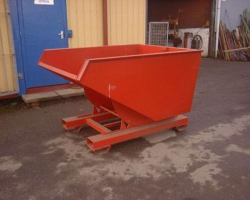 Autres 1 ton tipping skip, 4 way fork lift entry.