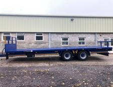 Broughan 28 Foot Bale Trailer