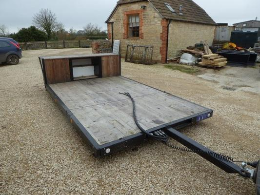 Autres WARWICK FLAT BED TRAILER