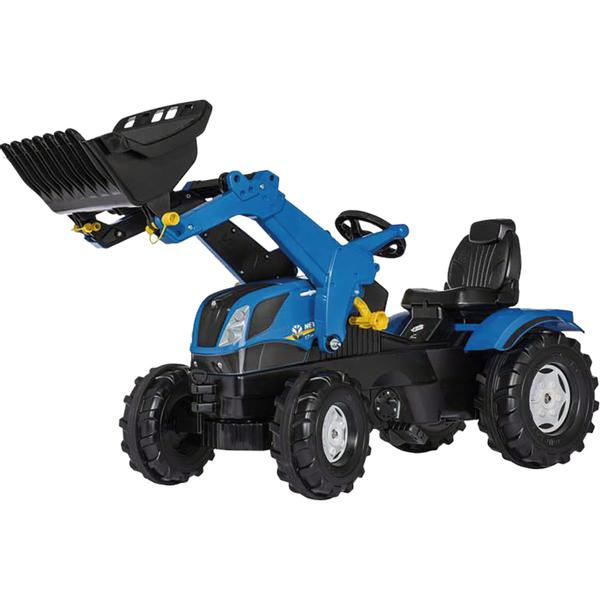 611256 Rolly Toys New Holland mit Trac Lader verstellbarer Sitz